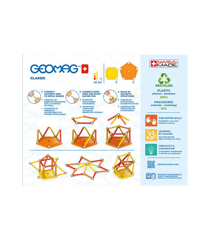 Geomag Greenline - Classic 42 delen