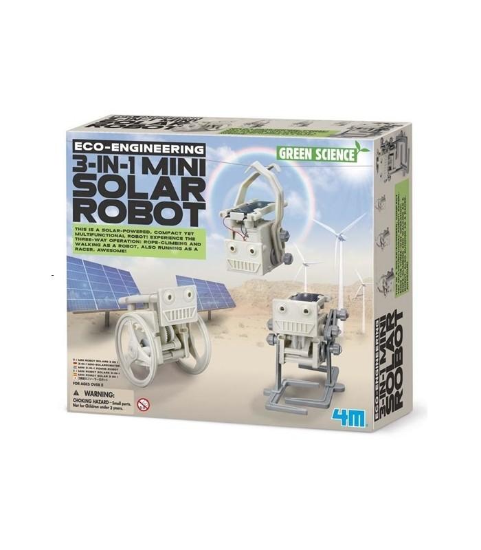 4M KidzLabs- 3 in 1 Mini Solar Robot