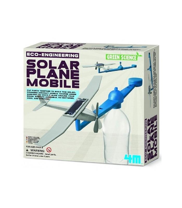 4M KidzLabs- Solar Plane Mobile