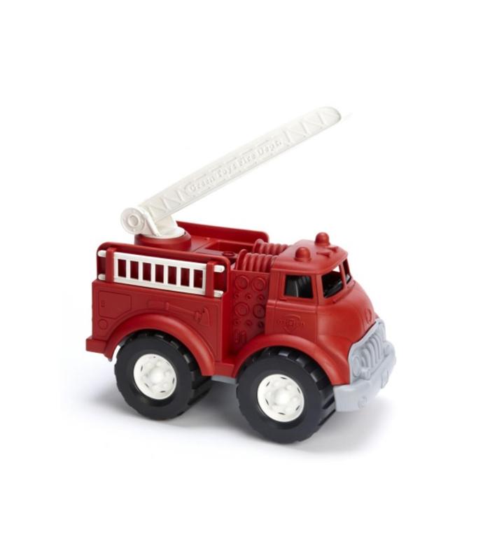 Brandweerauto - gerecycled